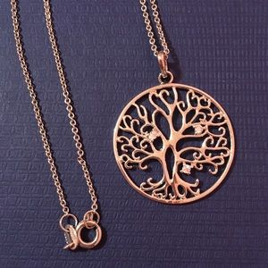 Sterling tree of life necklace